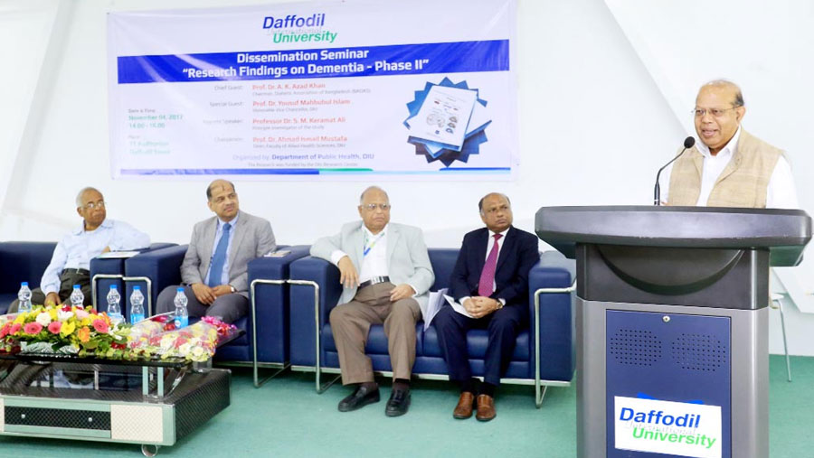 Seminar on 'Research Findings on Dementia'