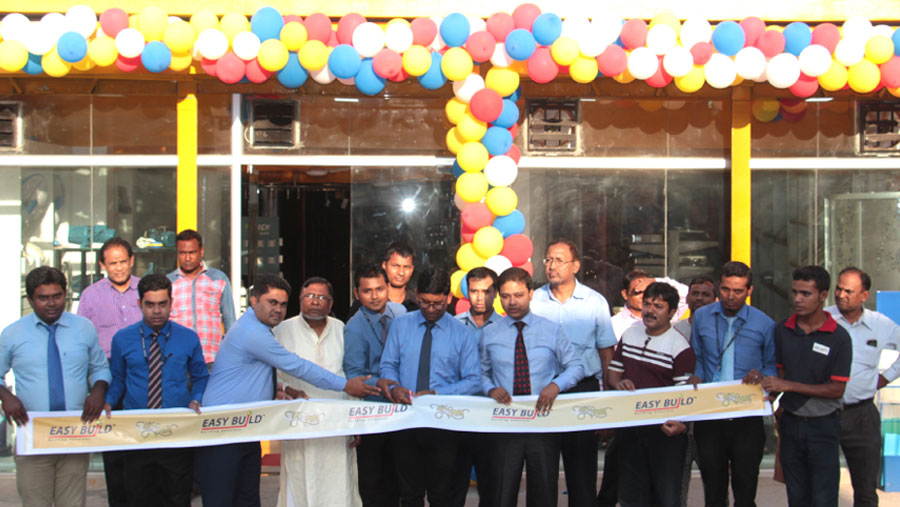 Easy Build opens outlet in Rangpur