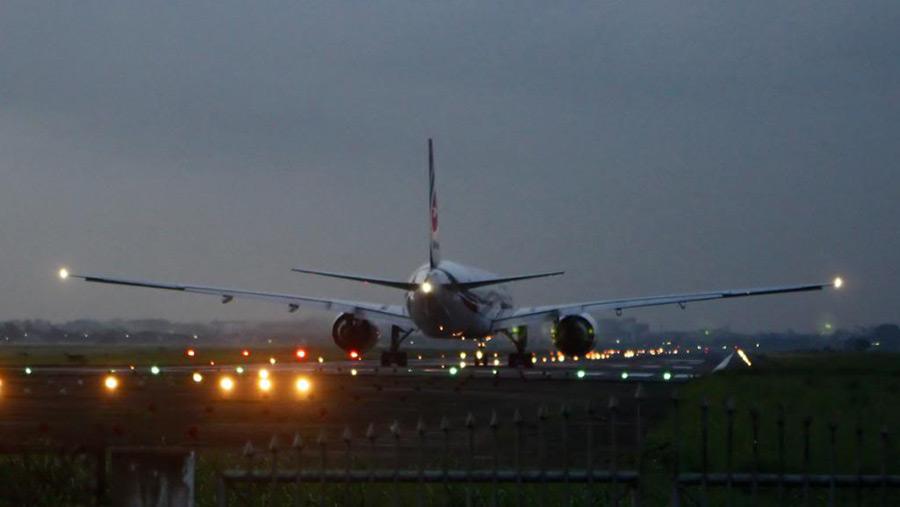 Fog disrupts flight operations at HSIA