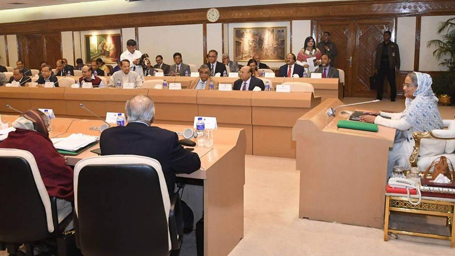 Cabinet okays draft of Digital Security Act 2018