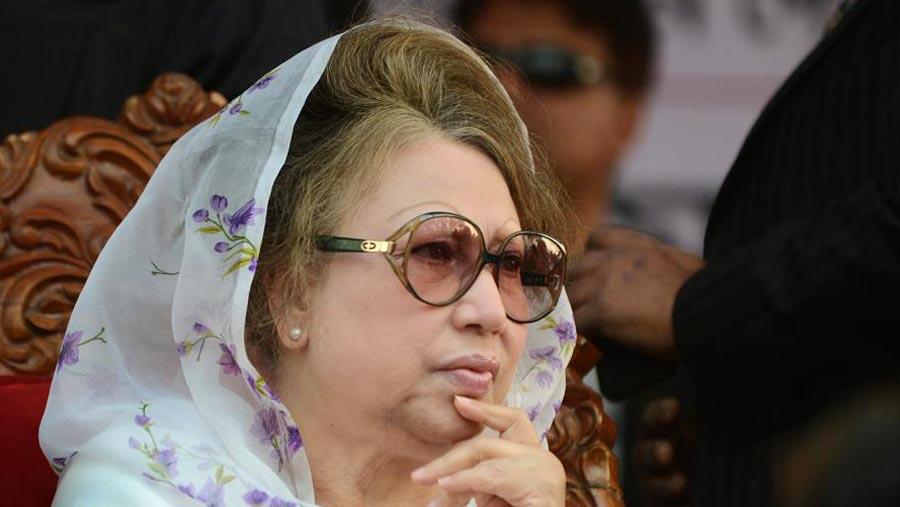 Khaleda Zia jailed for 5 years