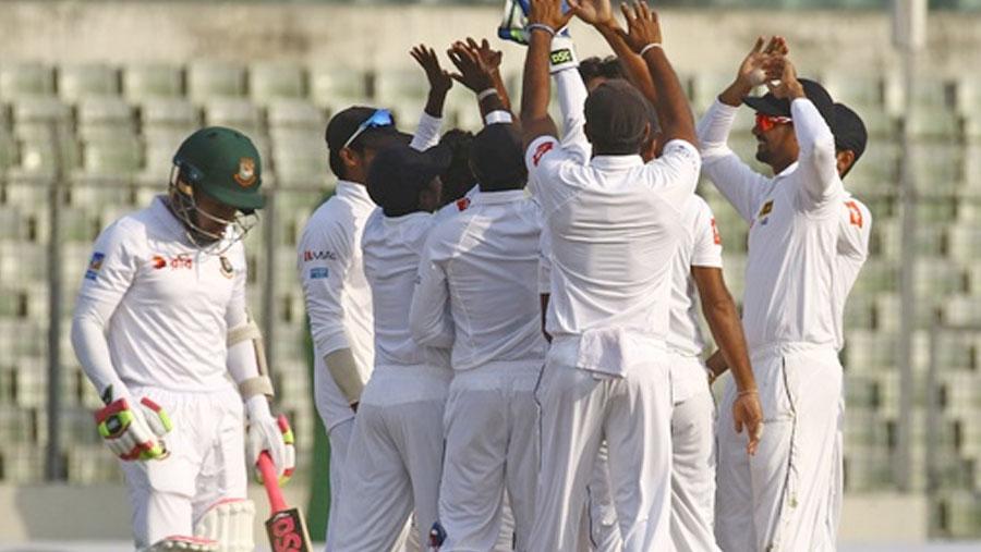 Sri Lanka win Test series over Tigers