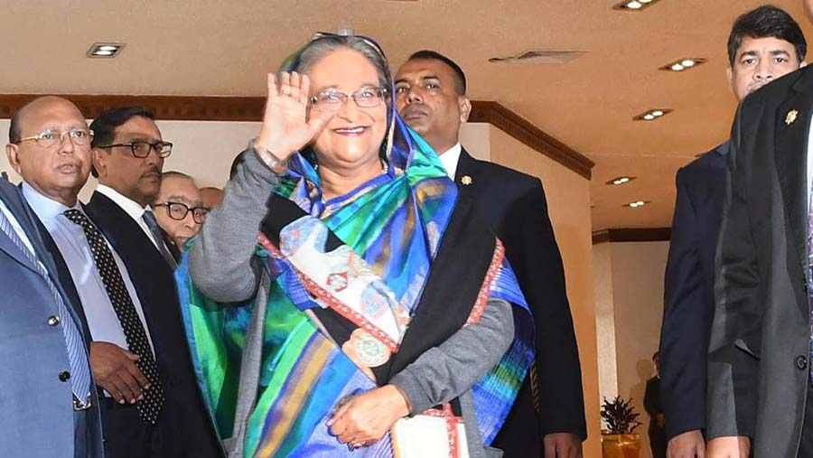 PM leaves Dhaka for Italy