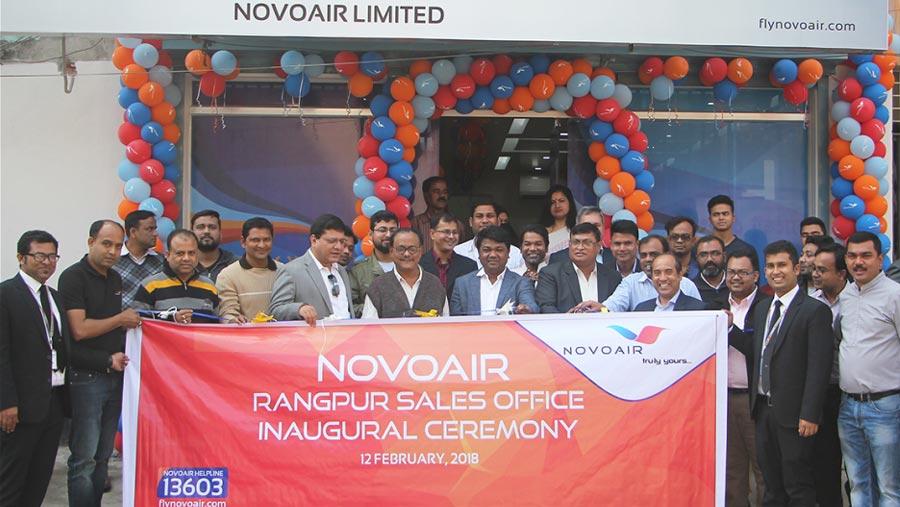 NOVOAIR sales office in Rangpur
