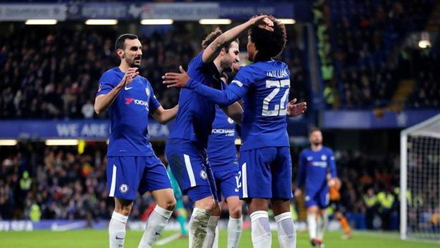Blues reach FA Cup last eight