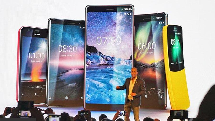 Introducing five new Nokia phones