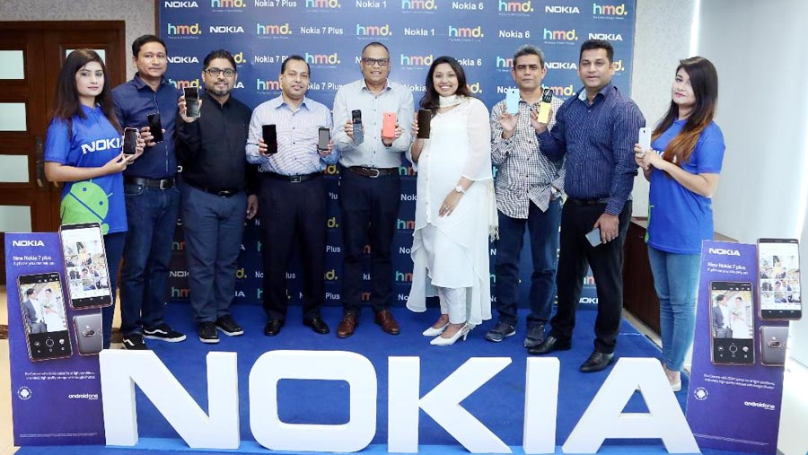 Nokia launches three Android smartphones in BD