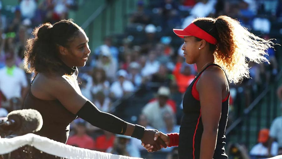 Serena knocked out of Miami Open