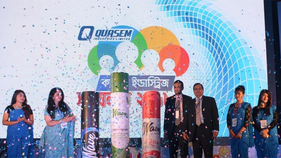 Bangladesh made body spray Wave launched