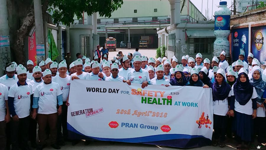PRAN-RFL observes World Day for Safety and Health at Work