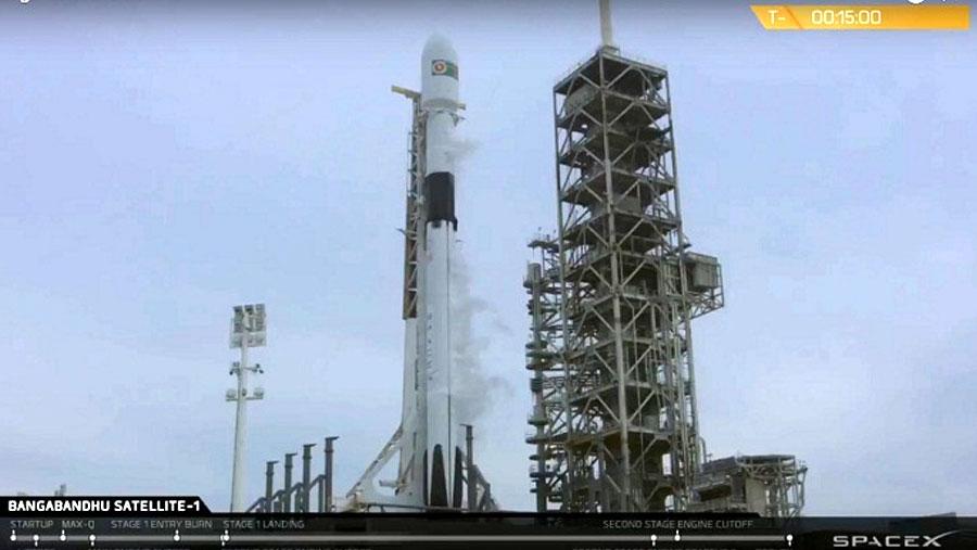 Bangabandhu Satellite-1 launching process resumes tonight