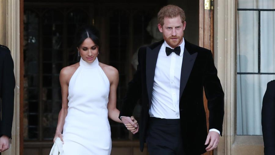 Prince Harry and Meghan married at Windsor