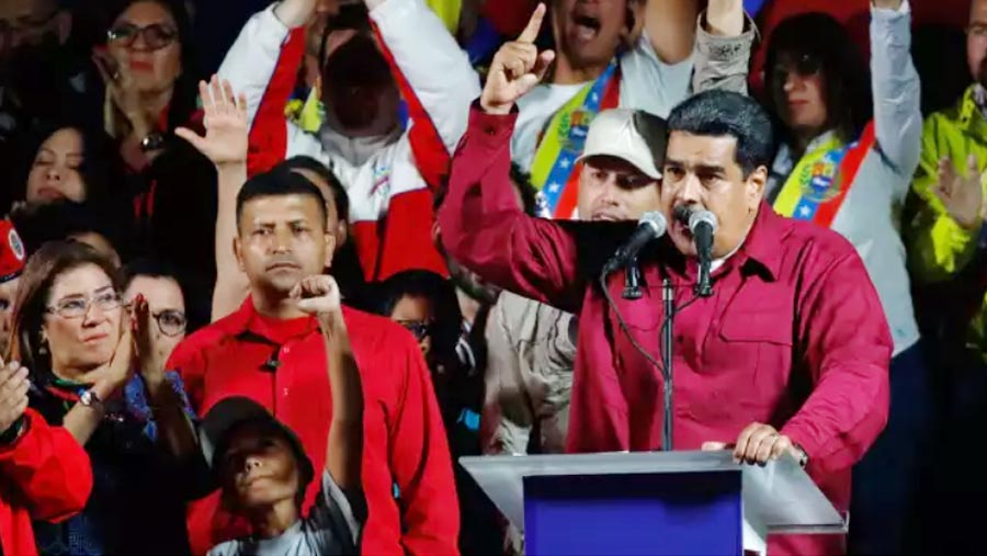 Maduro wins controversial election