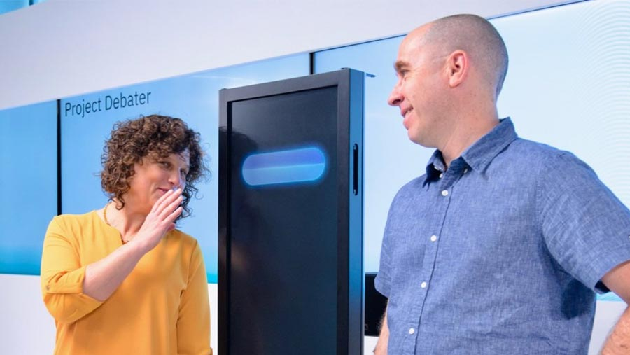 IBM unveils system that 'debates' with humans
