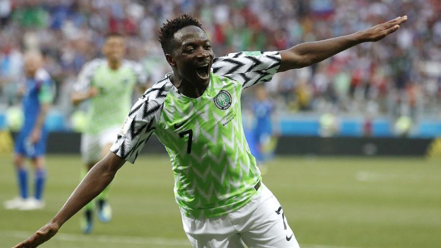 Musa double earns Nigeria win over Iceland