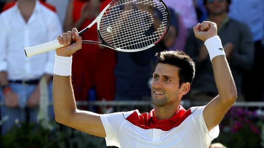 Djokovic through to Queen's semi-finals