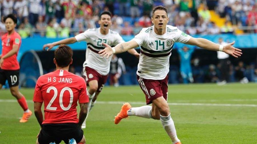 Mexico in dominant win over S. Korea