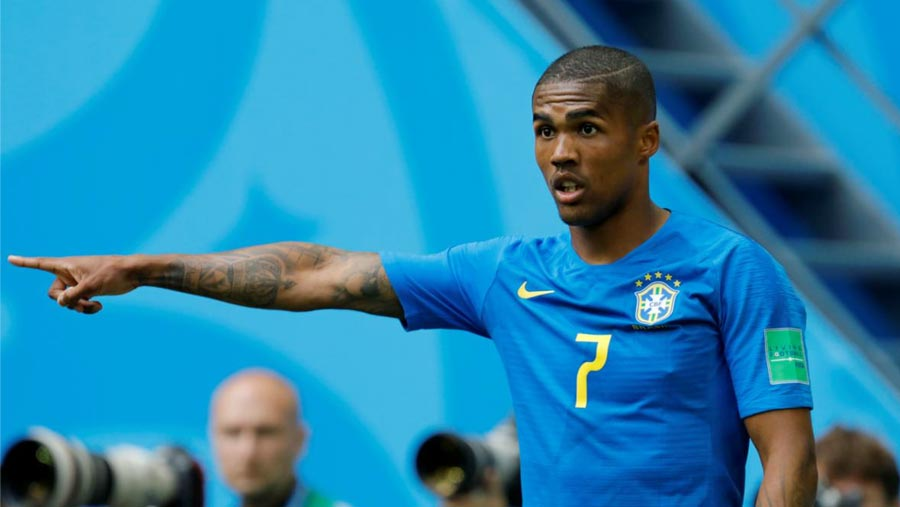 Douglas Costa to miss WC game vs Serbia