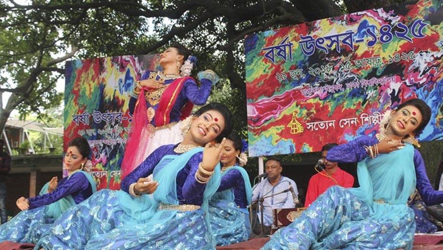 Borsha Utshab held at DU