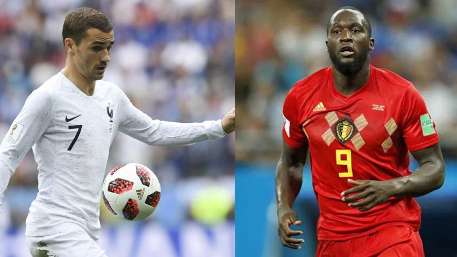 France and Belgium face off in semi-final