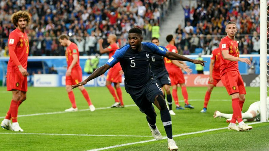 France beat Belgium to reach World Cup final