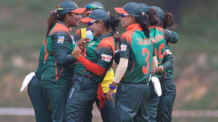 BD women thrash UAE by seven wickets