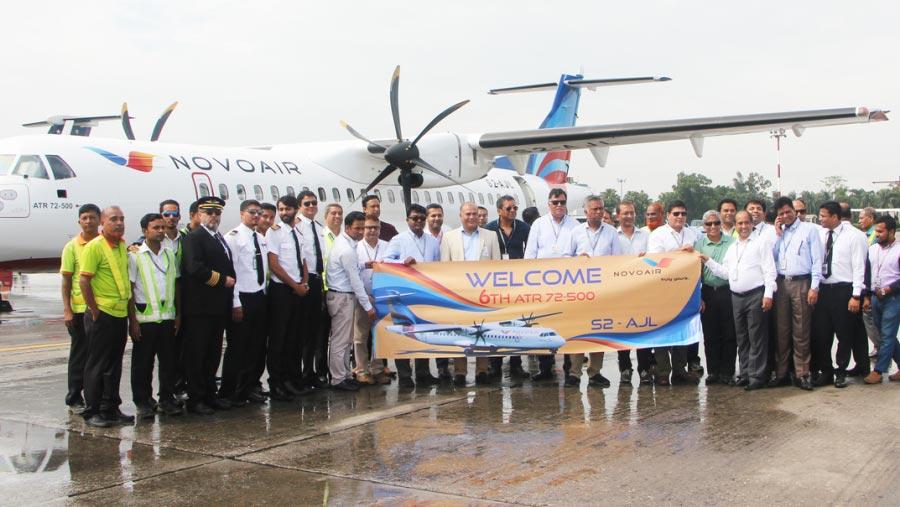 NOVOAIR added 6th aircraft in fleet