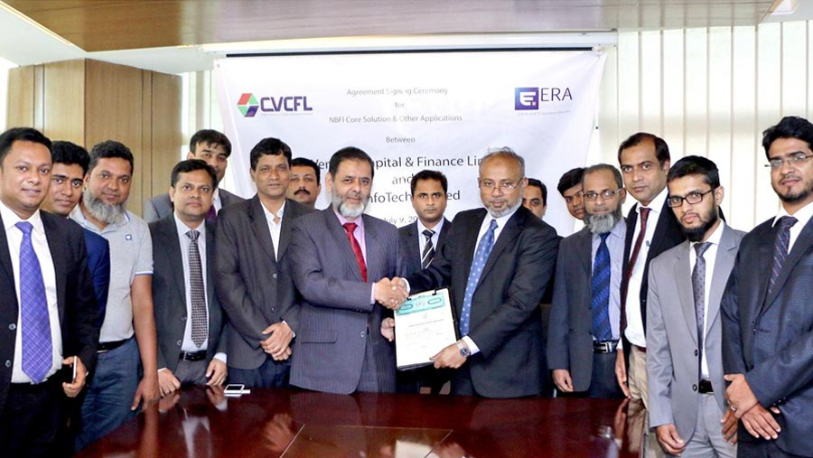 ERA InfoTech and CVCFL sign a deal