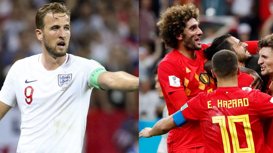 Belgium and England prepare for third place play-off