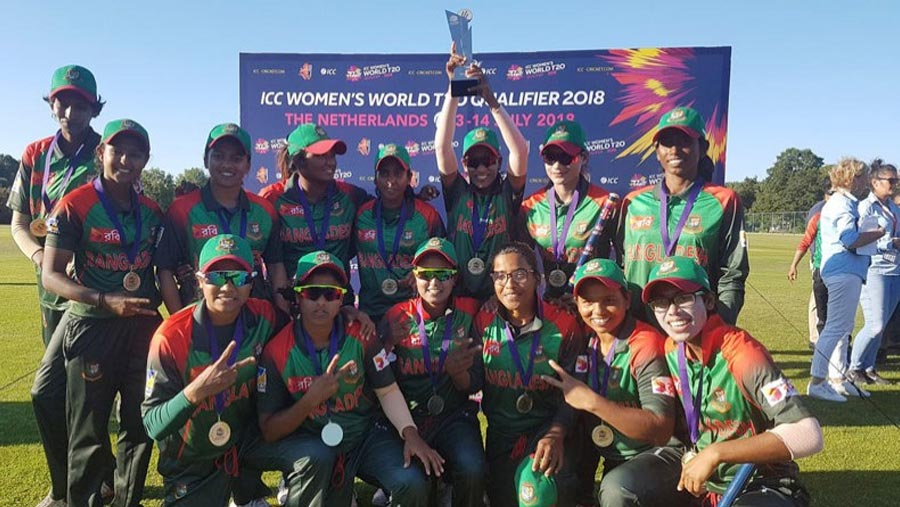 Bangladesh clinch Women's T20 qualifier title