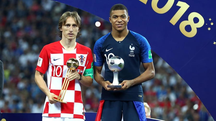 Modric, Mbappe honoured at World Cup