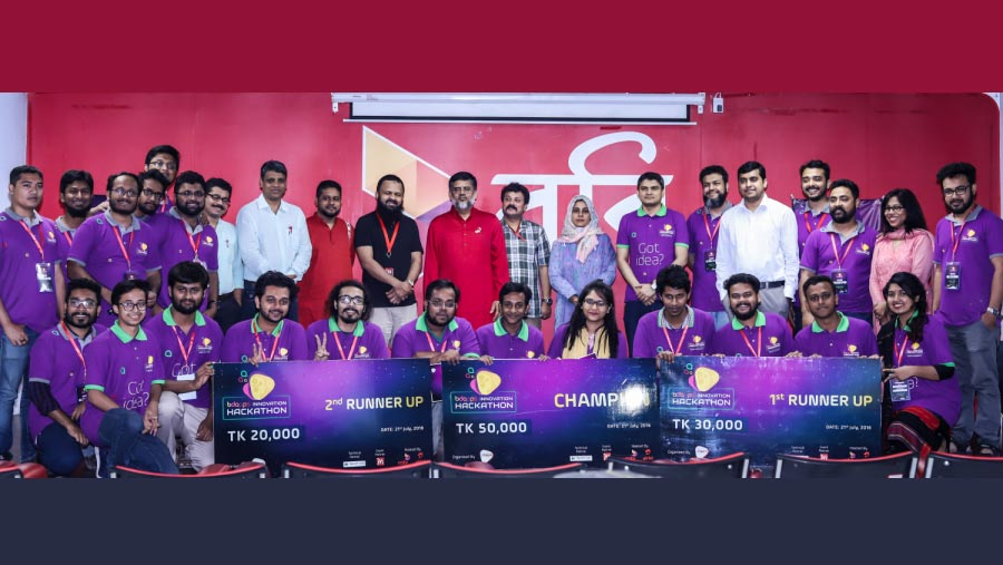 AUST wins BDApps Innovation Hackathon