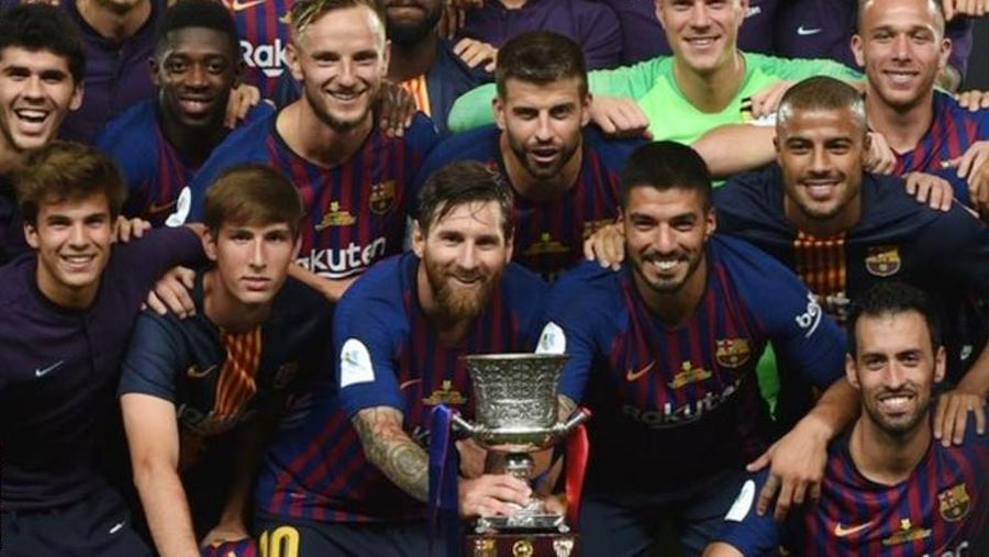 Barcelona win Spanish Super Cup