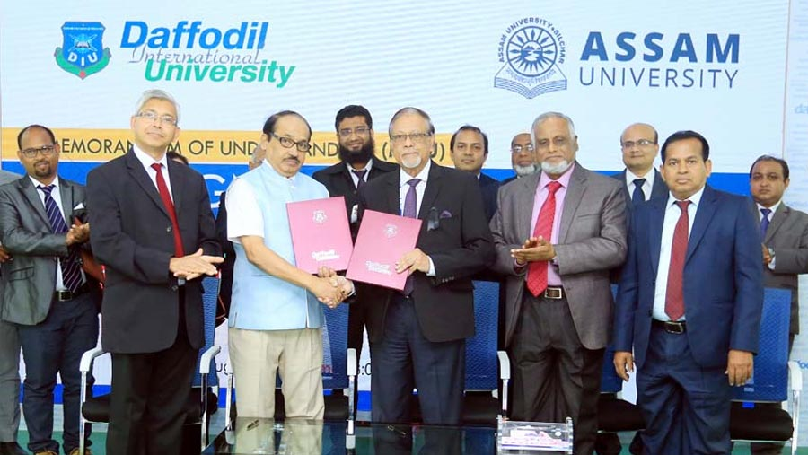 Assam University inks MoU with DIU