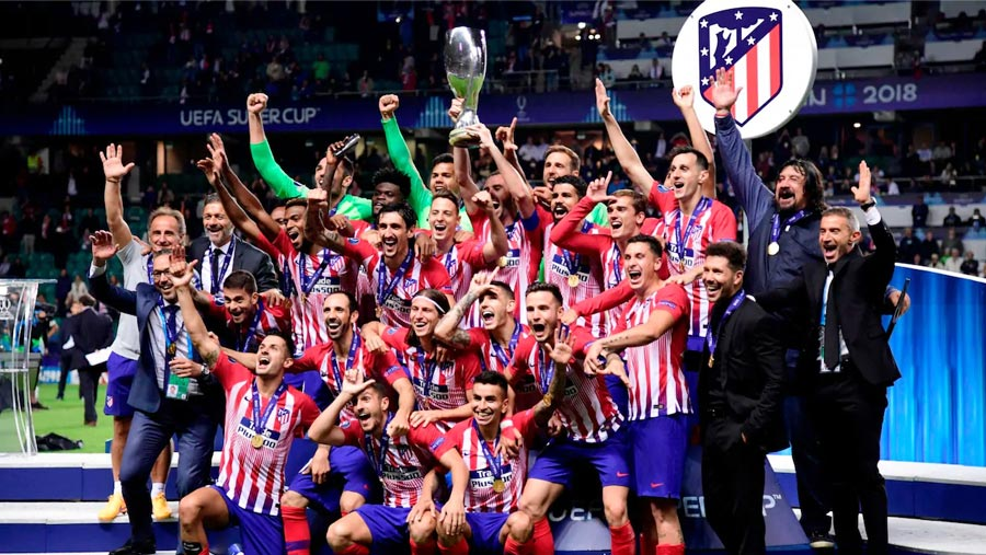 Costa double helps Atletico beat Real 4-2 in Uefa Super Cup