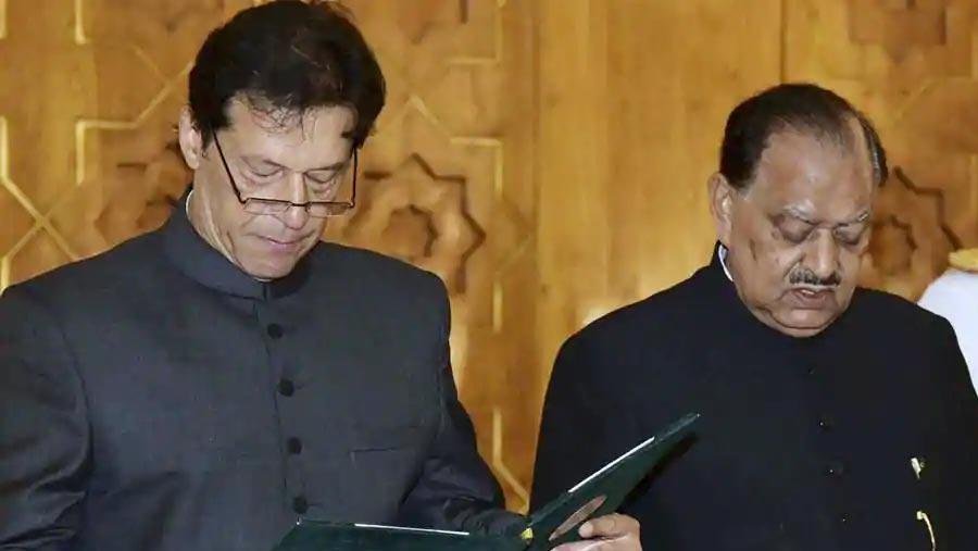 Imran Khan takes oath as Pakistan's 22nd PM