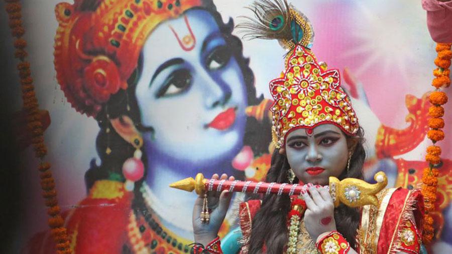 Holy Janmashtami on Sunday