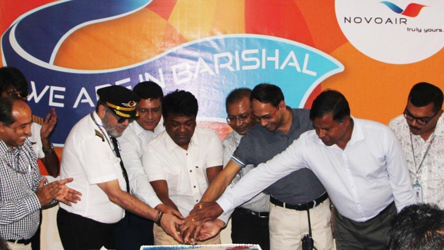 NOVOAIR starts flight to Barishal