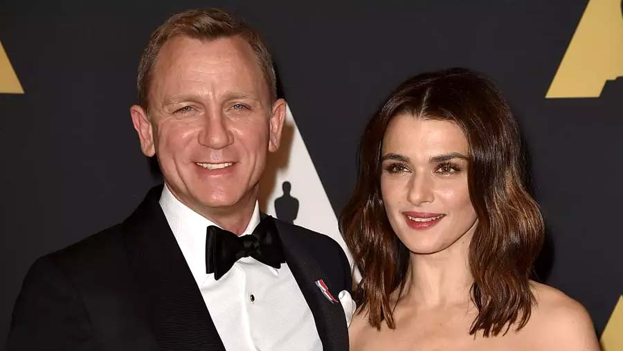 Craig and Weisz welcome first child together