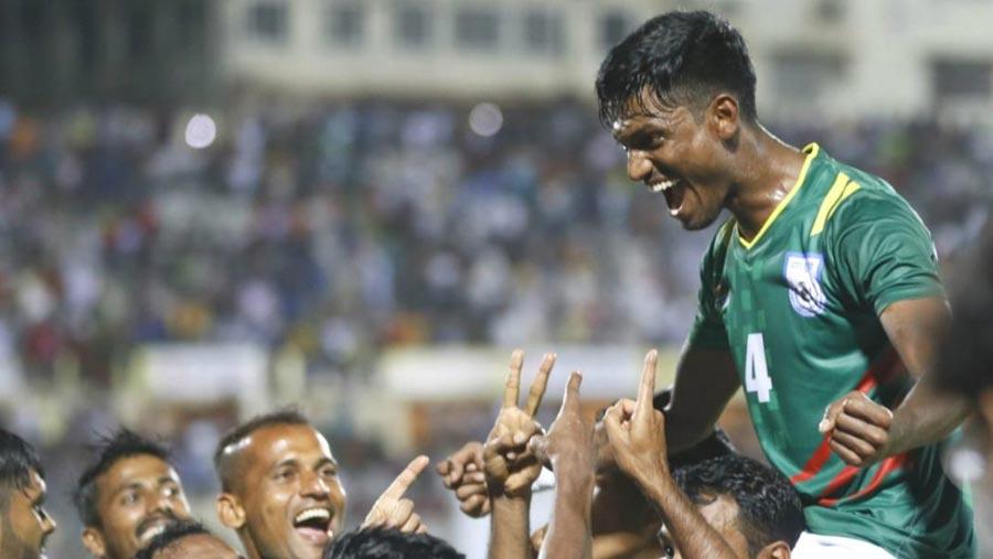 SAFF football: BD beat Pakistan 1-0