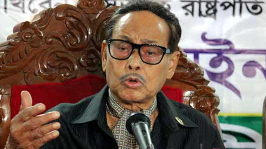 No longer in opposition bench in JS: Ershad
