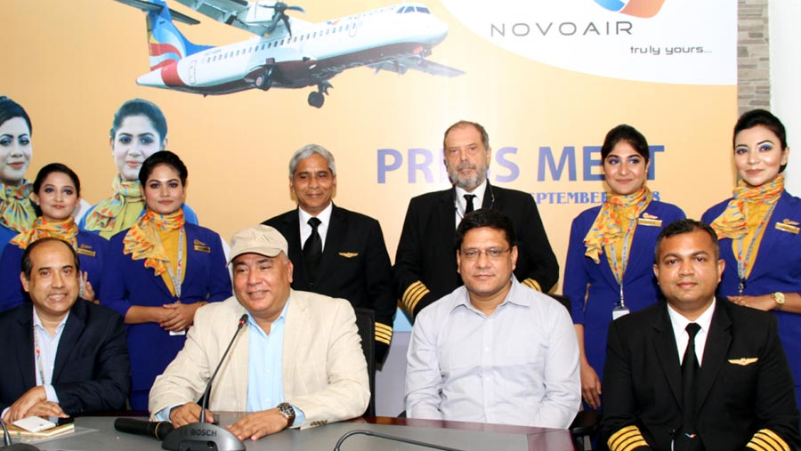 NOVOAIR launches mobile app and web check-in service