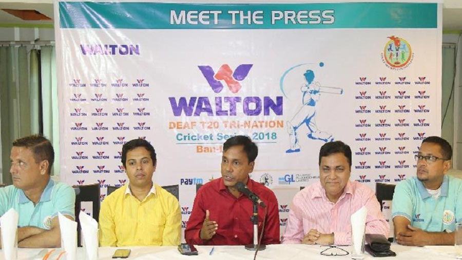 Walton deaf tri-nation T20 cricket Sep 14-21