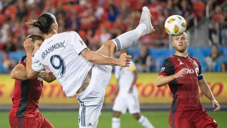 Ibrahimovic scores 500th career goal