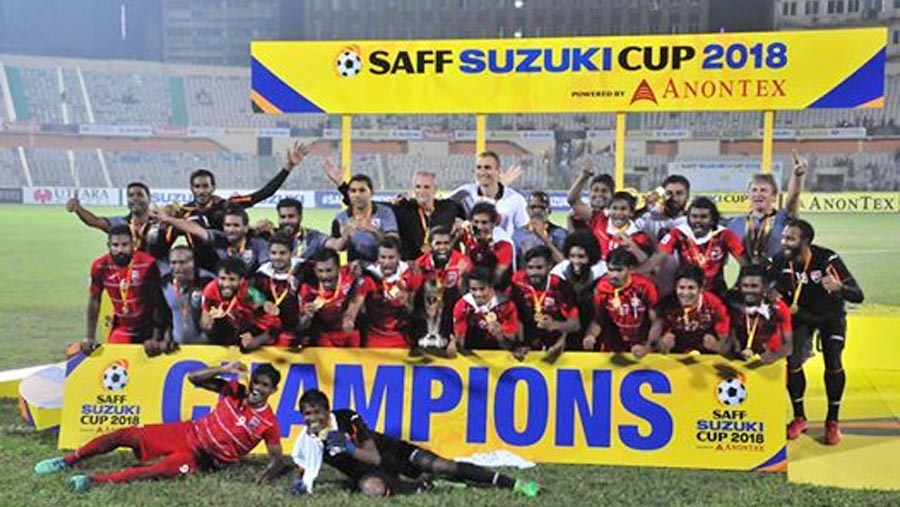 Maldives clinch Saff Suzuki Cup 2018 title