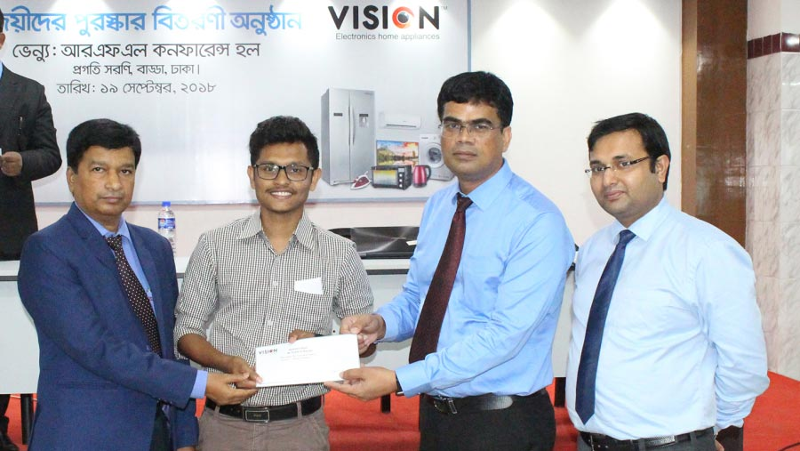 Vision distributes prizes among Russia campaign winners