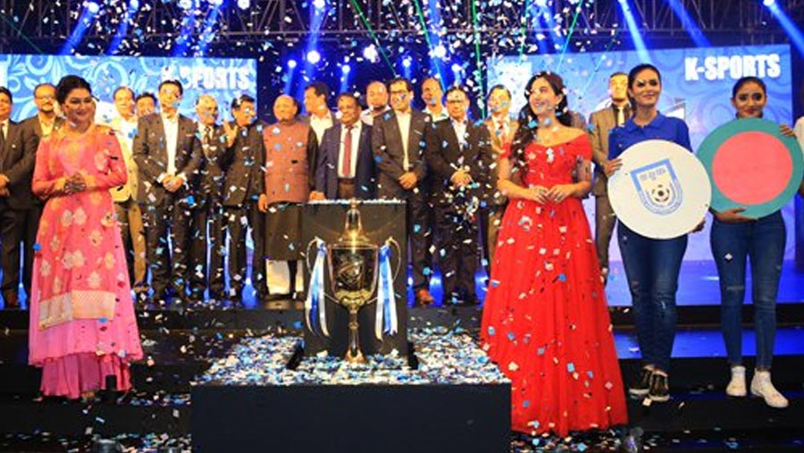 Trophy of Bangabandhu Int'l Gold Cup unveiled