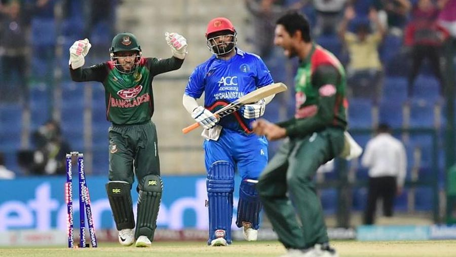 Asia Cup: Tigers hold nerve to defeat Afghans