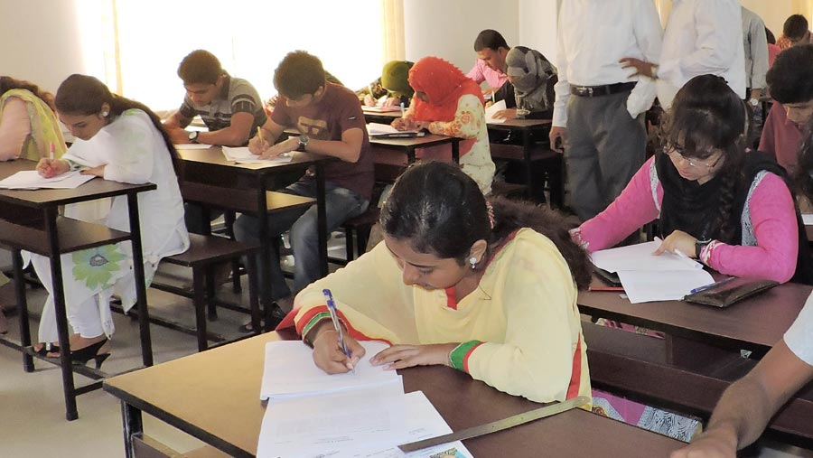 Results of MBBS admission test published