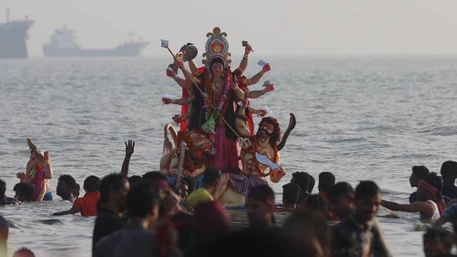 Durga Puja ends